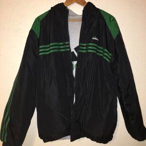 Irreversible Vintage Adidas Puffer Jacket
